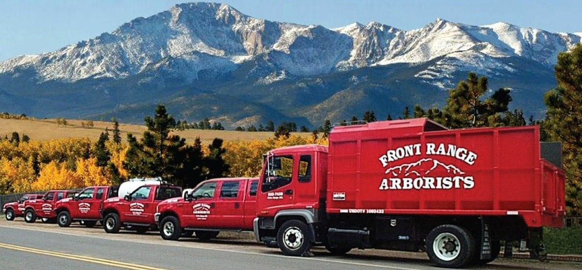 Trucks | Colorado Springs Tree & Shrub Care Company | Front Range Arborists, Inc.