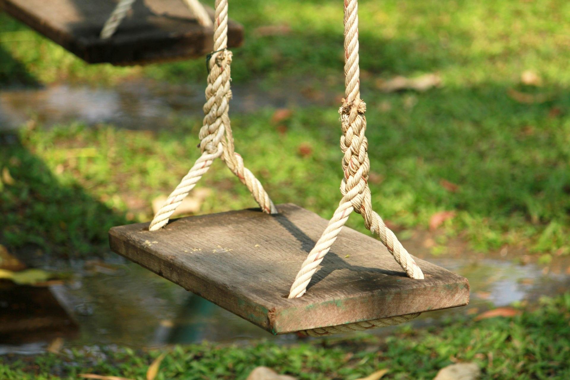 tree swing diy
