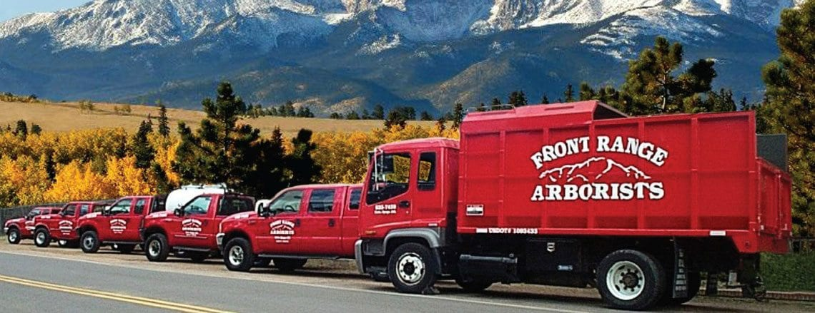 Free Estimate | Trucks | Colorado Springs Tree & Shrub Care Company | Front Range Arborists, Inc.
